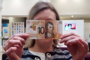 the takeover of plastic bank notes continues as clydesdale bank release new £10