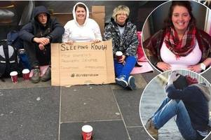 video diary: sleeping rough on 30th birthday weekend to support women's centre