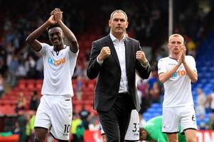 swansea city boss paul clement admits he would like to see tammy abraham choose england over nigeria
