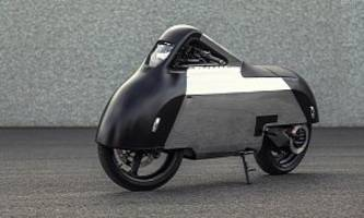electric custom motorcycle gets inspiration from iphone, porsche 356, pokémon