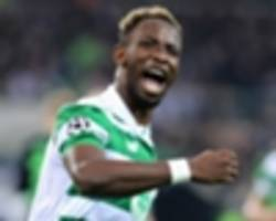 rodgers: dembele will be back for old firm clash