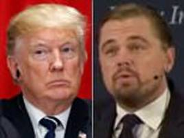dicaprio slams trump administration on global warming