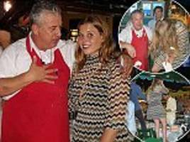 princess beatrice lets waiter smash plates over her