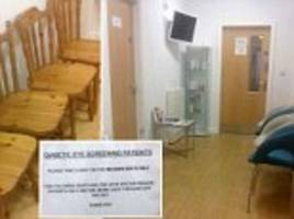 row at moldgreen gp surgery over private and nhs seats