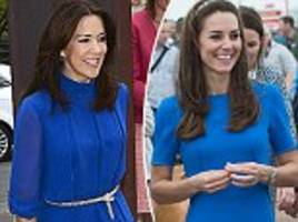 times princess mary and kate middleton have looked twins