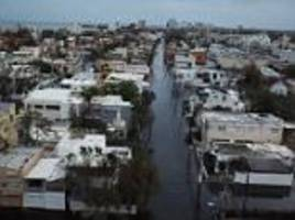 Drone footage shows Puerto Rico capital devastated