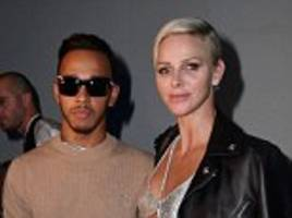 Lewis Hamilton attends Milan Fashion Week