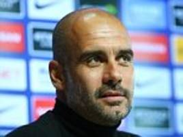 Man City boss Pep Guardiola plays down League Cup