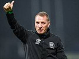 rodgers says celtic in the premier league would be amazing