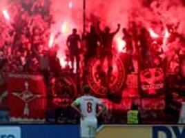 spartak fans banned from champions league trip to sevilla