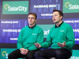 solarcity, which is now owned by tesla, will pay $29.5 million to settle allegations that it lied to the government (tsla)
