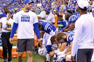 Colin reveals 4 reasons why Andrew Luck should sit out the entire Colts' season