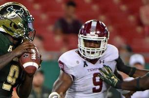 Flowers, Tice lead No. 21 USF to victory over Temple