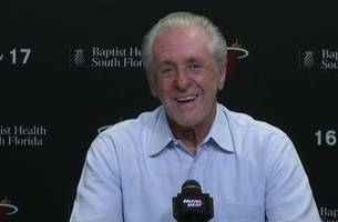 watch live: miami heat - pat riley press conference - 9 am on fox sports go