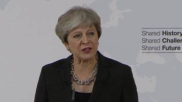 pm urges two-year brexit transition deal