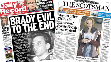 Scotland's papers: Ian Brady's secret suitcases