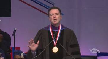get out james comey, you're not our homey: comey mercilessly heckled at howard university speech