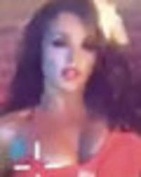 Little Mix's Jesy Nelson jiggles boobs and lifts skirt in shock video