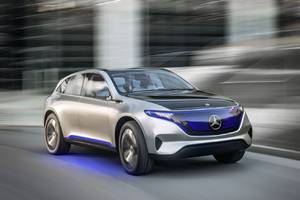 Mercedes-Benz will spend $1 billion to build electric vehicles in the US