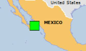 Green earthquake alert (Magnitude 5.5M, Depth:10km) in Mexico 22/09/2017 05:33 UTC, About 100 people within 100km.