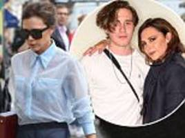 victoria beckham 'cant stop crying' over son brooklyn