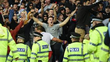 hajduk split ordered to pay £35,348 after crowd trouble at everton