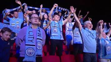 manchester city fans star in we're not really here opera