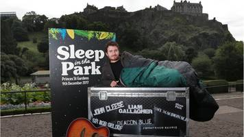 thousands sign up for huge sleep out to help homelessness