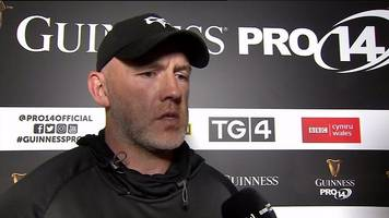 steve tandy: ospreys coach says there is no crisis after third pro14 defeat