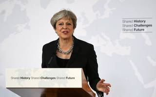 here's theresa may's florence speech on brexit in full