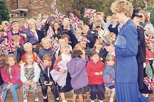 Beautiful Princess Diana was 'so very warm and gracious and so tall!'