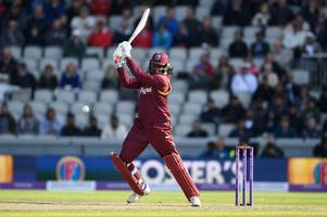 doubt looms over chris gayle for england v west indies bristol match