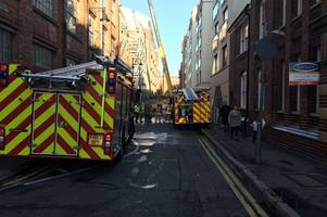 firefighters tackle blaze at zenith building flats in leicester city centre