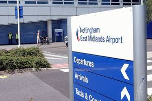 east midlands airport flights affected after pilots opt to strike