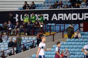 after middlesbrough, these are aston villa's lowest attendances in the last 30 years