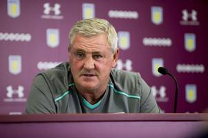 watch: aston villa boss steve bruce conducts his pre-nottingham forest press conference