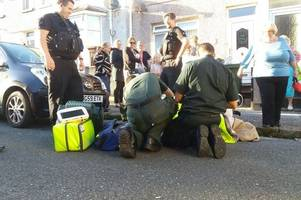 disabled woman left lying in road for three hours waiting for an ambulance