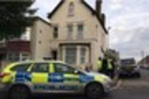 teenager arrested in terror police raid on thornton heath home is...