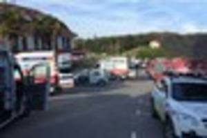 Mascalls Academy schoolchildren rushed to hospital after 'carbon...