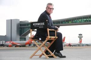 mark kermode would like to help you choose your in-flight movie from gatwick airport