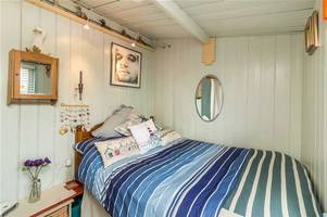 you could live on the set of broadchurch - david tennant's waterfront chalet is for sale