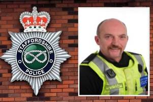 police officer dies after keeping staffordshire streets safe for 24 years