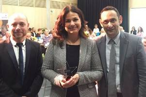 this local politician has been named 'parliamentarian of the year'