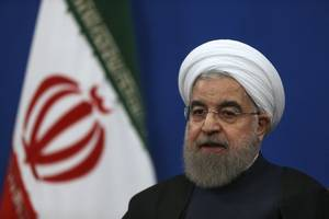 defiant rouhani says iran will press on with missile program