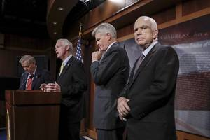 mccain comes out against graham-cassidy, likely sinking obamacare repeal efforts
