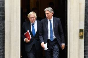 boris johnson and philip hammond best of frenemies ahead of pivotal brexit speech