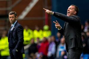 rangers will give celtic a tougher test than last season but if they take a drubbing pedro caixinha is in bother