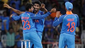 india twitter celebrates kuldeep yadav hat-trick