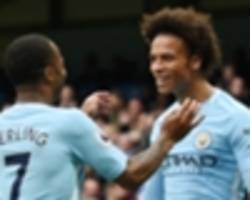 magnificent seven: man city have the best attack in the premier league