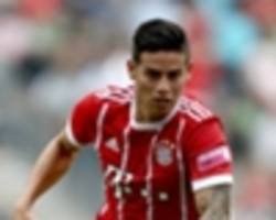 james rodriguez is a typical no.10 who doesn't track back - ballack